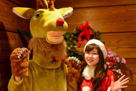 温泉旅館でクリスマス!