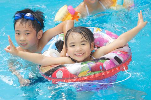 プールが楽しめます!★雨の日でも過ごせる龍泉閣!