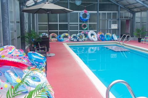 ご家族でプールが楽しめます!